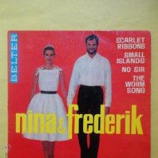 Discos de vinilo: NINA & FREDERIK. BELTER. Lote 51357323