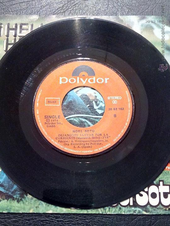 Discos de vinilo: SINGLE NOEL SOTO - ¡HELLO HELLO! - POLYDOR 1975. - Foto 4 - 51360780
