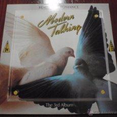 Discos de vinilo: MODERN TALKING - READY FOR ROMANCE. LP ARIOLA, 1986. Lote 51365021