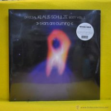 Discos de vinilo: KLAUS SCHULZE - OFFICIAL KLAUS SCHULZE VOL . 1 STARS ARE BURNING - GATEFOLD - 2 LP. Lote 51366394