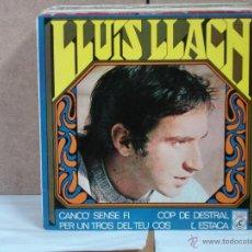 Lluis Llach - Cop de Destral / Canço Sense Fi / Per Un Tros Del Teu Cos / L'Estaca - 1968