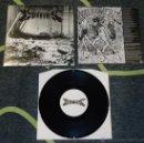 Discos de vinilo: MALA SUERTE / COFFINS - SPLIT - 10''. Lote 51370676