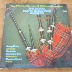 Discos de vinilo: THE ROYAL SCOTS DRAGOON GUARDS. 1978 EDICION ALEMANA. Lote 51375789