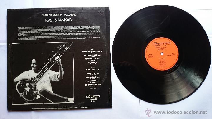 Discos de vinilo: RAVI SHANKAR - TRANSMIGRATION MACABRE (1974/1977) - Foto 2 - 51377144