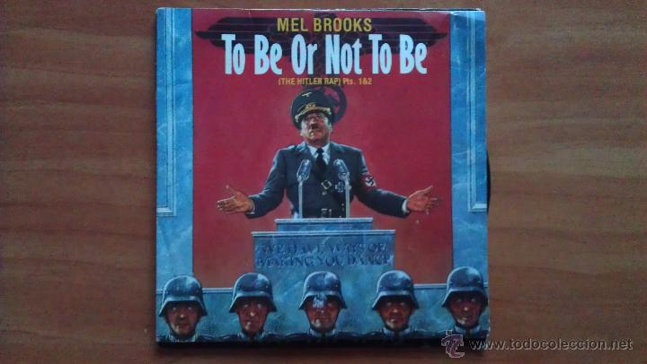 SINGLE TO BE OR NOT TO BE (Música - Discos - Singles Vinilo - Bandas Sonoras y Actores)
