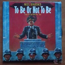 Discos de vinilo: SINGLE TO BE OR NOT TO BE. Lote 51380034