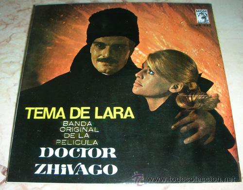 TEMA DE LARA - EP DE LA PELICULA DR. ZHIVAGO - (Música - Discos de Vinilo - EPs - Bandas Sonoras y Actores)