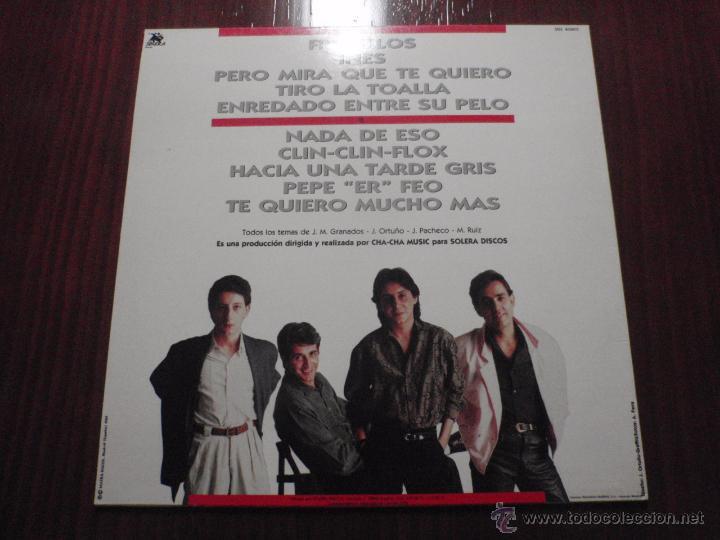 Discos de vinilo: FRENILLOS - DISFRUTEN LAS MOLESTIAS. LP, Solera Discos 1989 - Foto 2 - 51385012