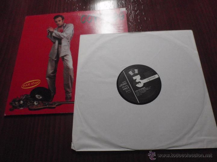 Discos de vinilo: LOS COYOTES de Víctor Abundancia - DE COLOR DE ROSA. Maxi-Single vinilo, 3 Cipreses 1988 - Foto 3 - 51385212