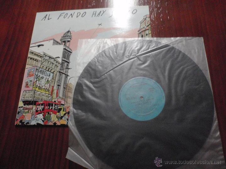 Discos de vinilo: AL FONDO HAY SITIO - A COLOCARSE Y AL LORO. Maxi-Single vinilo, Solera Discos 1986 - Foto 3 - 51385294