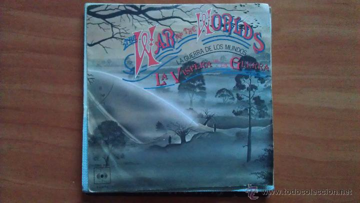 Discos de vinilo: SINGLE 45 RPM / BANDA SONORA / THE WAR OF THE WORLDS - LA GUERRA DE LOS MUNDOS // EDITADO POR CBS - Foto 1 - 51385698