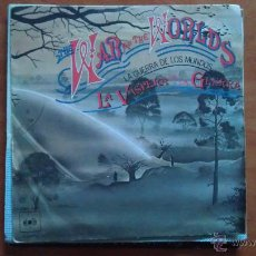 Discos de vinilo: SINGLE 45 RPM / BANDA SONORA / THE WAR OF THE WORLDS - LA GUERRA DE LOS MUNDOS // EDITADO POR CBS. Lote 51385698