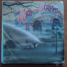 Discos de vinilo: SINGLE 45 RPM / BANDA SONORA / THE WAR OF THE WORLDS - LA GUERRA DE LOS MUNDOS // EDITADO POR CBS. Lote 51385698