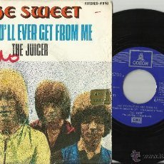 Discos de vinilo: THE SWEET SINGLE ALL YOU´LL EVER GET FROM ME / THE JUICER EMI ESPAÑA 1971. Lote 51389690