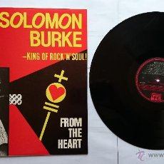 Discos de vinilo: SALOMON BURKE (KING OF ROCK 'N' SOUL) - FROM THE HEART (1981) (REEDIC. 1984). Lote 51392567