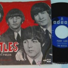 Discos de vinilo: BEATLES -SG- STRAWBERRY FIELDS FOREVER + 1 OR SPAIN 60'S. Lote 51393000