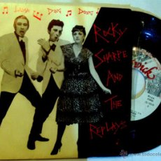 Discos de vinilo: SINGLE DE - ROCKY SHARPE AND THE REPLAYS - RAMA LAMA DING DONG / CHISWICK 1978 . Lote 51393011
