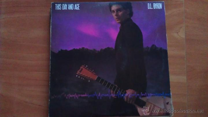 Discos de vinilo: LP D. L. BYRON THIS DAY AND AGE - Foto 1 - 51393304