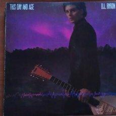 Discos de vinilo: LP D. L. BYRON THIS DAY AND AGE. Lote 51393304