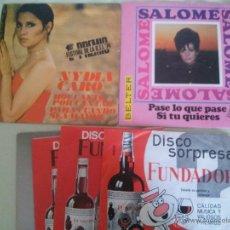 Discos de vinilo: LOTE DE 18 DISCOS 45 RPM VARIOS ARTISTAS. Lote 51394809