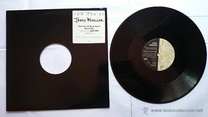 SASH TRAP - DON'T YOU TELL ME TO DANCE (MONSTER MIX 7:50) (BSO JERRY MAGUIRE) (MAXI PROMO US 1996) (Música - Discos de Vinilo - Maxi Singles - Bandas Sonoras y Actores)