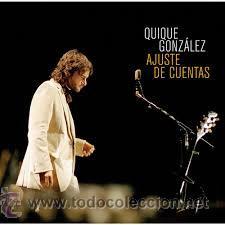 QUIQUE GONZALEZ - AJUSTE DE CUENTAS - 2 LP / WARNER - A ESTRENAR - CON BUNBURY / IVAN FERREIRO (Música - Discos - LP Vinilo - Grupos Españoles de los 90 a la actualidad)