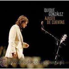 Discos de vinilo: QUIQUE GONZALEZ - AJUSTE DE CUENTAS - 2 LP / WARNER - A ESTRENAR - CON BUNBURY / IVAN FERREIRO. Lote 51395070