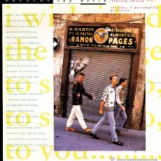 Discos de vinilo: BREATHE-SAY HELLO + ALL THAT JAZZ SINGLE VINILO 1990 + 3 FOTOS CON PORTADA DOBLE (ENGLAND). Lote 51397506