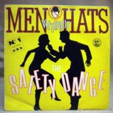 Discos de vinilo: DISCO DE VINILO, LP, MEN WITHOUT HATS, SAFETY DANCE, STATIK, B - 20109. Lote 51398394