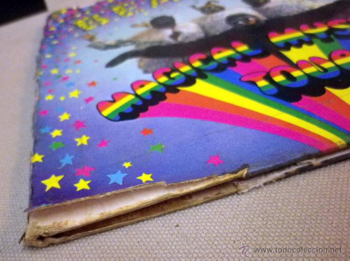 Discos de vinilo: DISCO DE VINILO, SINGLE DOBLE, THE BEATLES, RADIO VALENCIA, MAGICAL MYSTERY TOUR, SOLM 1 -2, ODEON - Foto 8 - 51400679