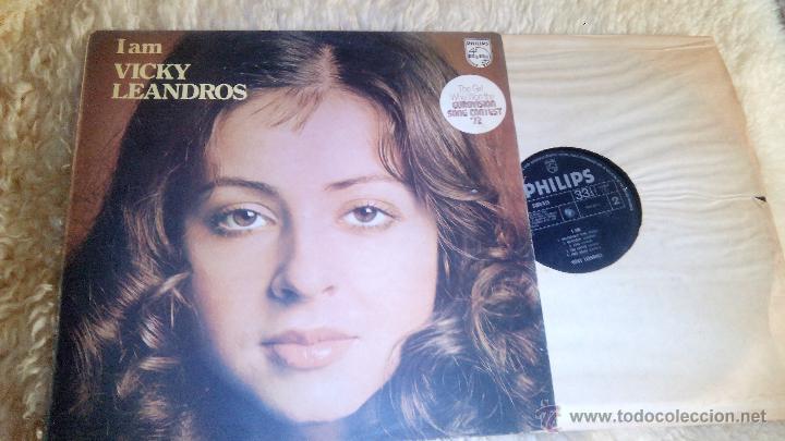 VICKY LEANDROS - I AM - ARTISTA DE EUROVISION - VINILO (Música - Discos - LP Vinilo - Festival de Eurovisión)