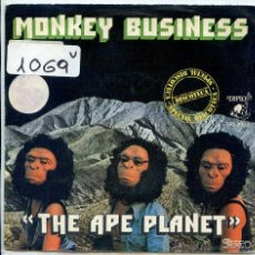 Discos de vinilo: MONKEY BUSINESS / THE APE PLANET / THE APLE WALK (SINGLE PROMO 1975). Lote 51403678