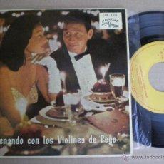 Discos de vinilo: VIOLINES DE PEGO - CENANDO CON...-EP CUBALEGRE ESPAÑA 1962. Lote 51407380