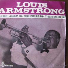 Discos de vinilo: LOUIS ARMSTRONG. HELLO, DOLLY! ... EP 7INCH.KAPP RECORDS 152-XC MADE IN SPAIN 1964. Lote 51409826