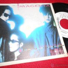 Discos de vinilo: MAGENTA DETRAS DE MI 7 SINGLE 1985 EPIC MOVIDA POP PROMO UNA CARA NACHO CANO MECANO. Lote 51413290