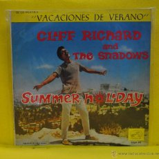 Discos de vinilo: CLIFF RICHARD AND THE SHADOWS - SUMMER HOLIDAY - BSO - LP. Lote 51422666