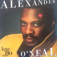 Discos de vinilo: ALEXANDER O'NEAL - LOVE MAKES NO SENSE . MAXI SINGLE . 1993 UK . Lote 51423069
