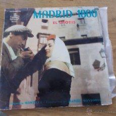 Discos de vinilo: MADRID 1800 EL CHOTIS EDICION USA. Lote 51424300