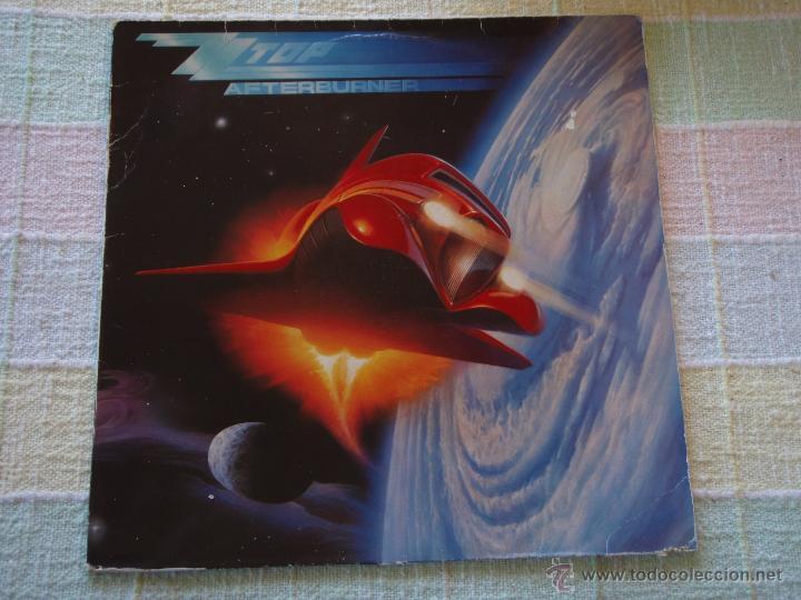 ZZ TOP ( AFTERBURNER ) 1985 - GERMANY LP33 WARNER BROS RECORDS (Música - Discos - LP Vinilo - Pop - Rock - New Wave Extranjero de los 80)