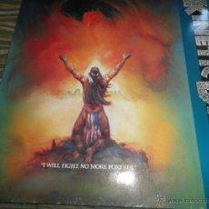 Discos de vinilo: KINETIC DISSENT - I WILL FIGHT NO MORE FOREVER LP - ORIGINAL HOLANDES - ROADRACER RECORDS 1991 -. Lote 51437777
