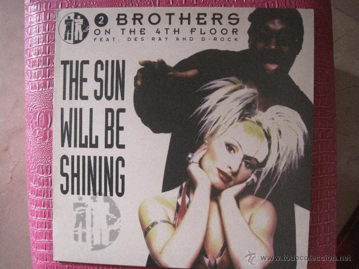 2 BROTHERS ON THE 4 TH FLOOR - FEAT DES RAY AND D - ROCK - THE SUN WILL BE SHINING (Música - Discos de Vinilo - Maxi Singles - Disco y Dance)