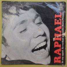 Discos de vinilo: RAPHAEL. YO SOY AQUEL. Lote 51443493