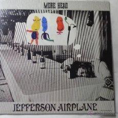 Discos de vinilo: JEFFERSON AIRPLANE - LP VINILO MORE HEAD - LIVE AT THE FILLMORE - NUEVO.. Lote 51445908