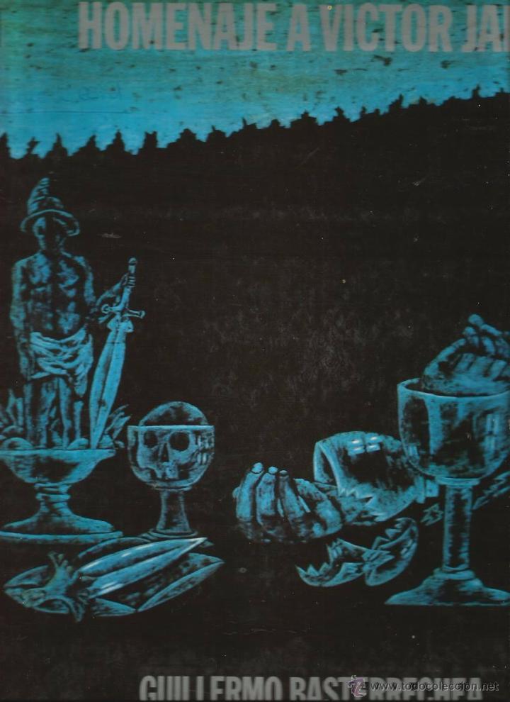 LP GUILLERMO BASTERRECHEA : HOMENAJE A VICTOR JARA ( CON ARREGLOS Y PRODUCCION DE RODRIGO GARCIA) (Música - Discos - LP Vinilo - Grupos y Solistas de latinoamérica)