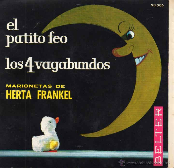 MARIONETAS DE HERTA FRANKEL, EP, EL PATITO FEO + 1, AÑO 1963 (Música - Discos de Vinilo - EPs - Música Infantil)