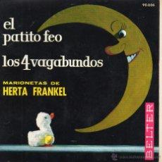 Discos de vinilo: MARIONETAS DE HERTA FRANKEL, EP, EL PATITO FEO + 1, AÑO 1963. Lote 51452647
