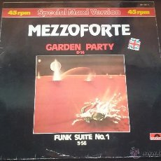 Discos de vinilo: MEZZOFORTE - GARDEN PARTY - 1983. Lote 51460089