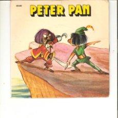 Discos de vinilo: PETER PAN CUENTO YUPI 1970. Lote 51460370