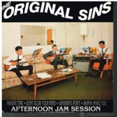 Discos de vinilo: THE ORIGINAL SINS - MAKING TIME / DONT BLOW YOUR MIND / VANISHING POINT / WANNA MAKE YOU - EP 1993. Lote 51464159