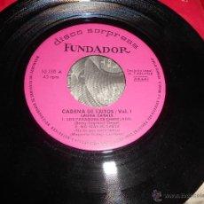 Discos de vinilo: CADENA DE EXITOS LOS ANGELES+LOS BOHEMIOS+LAURA CASALE EP 1968 FUNDADOR. Lote 51467450